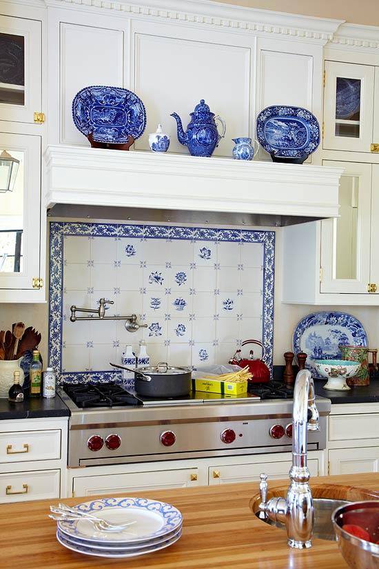 کاشی آشپزخانه طرح سنتی
